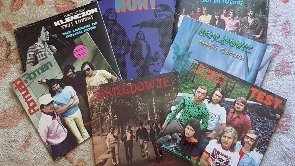 Promocja wyprzedanych tytułów winylowych w sklepie Kameleon Records
